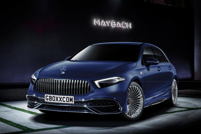 Рендер Mercedes-Maybach A-Class