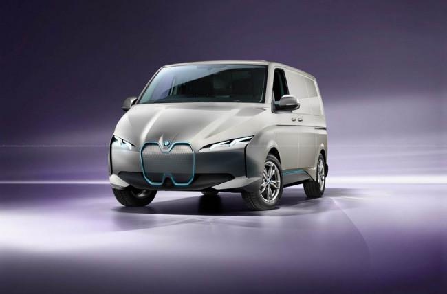 Рендер фургона BMW