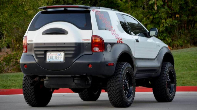 Isuzu Vehicross Ironman Edition