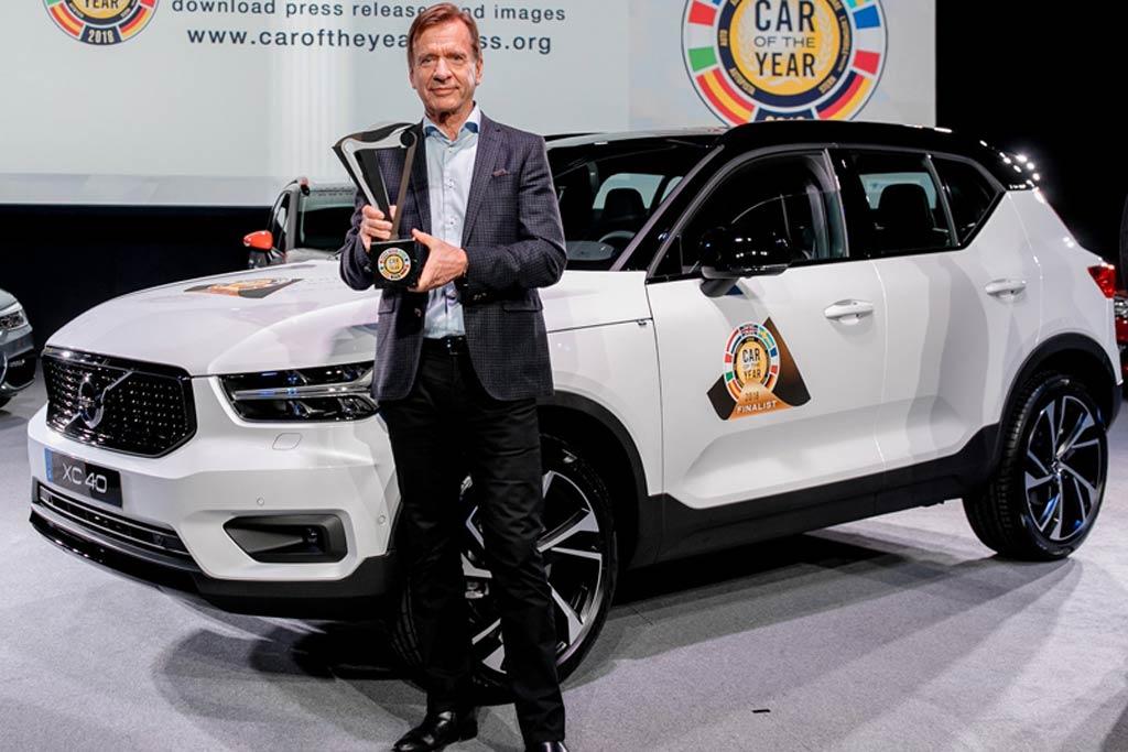 Автомобилем года вевропейских странах стал кроссовер Вольво XC40