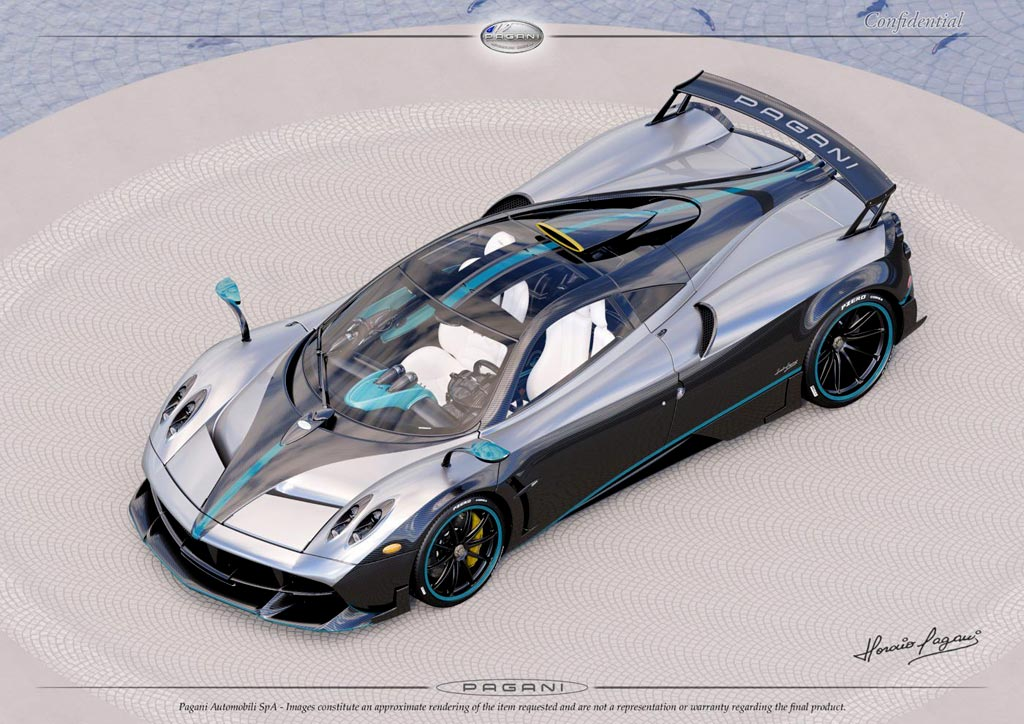 Последний Pagani Huayra получит дизайн болида Формулы-1