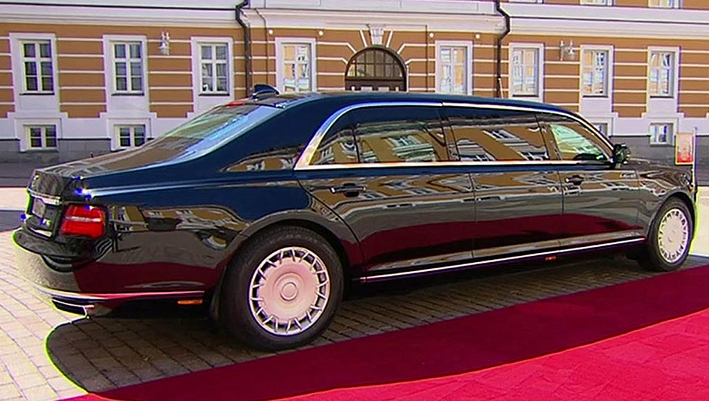 Президенский лимузин Aurus