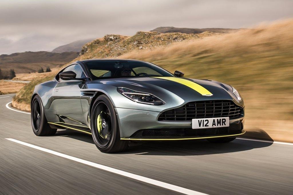 Суперкар Aston Martin DB11 обзавелся модификацией AMR