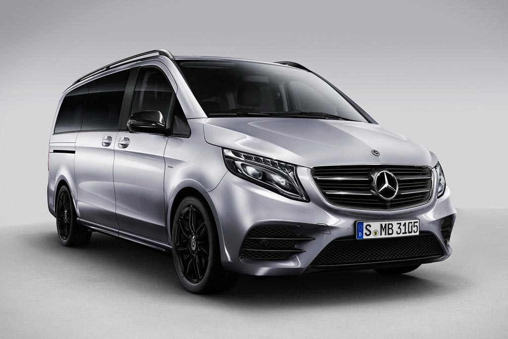 Mercedes V-Class Night Edition