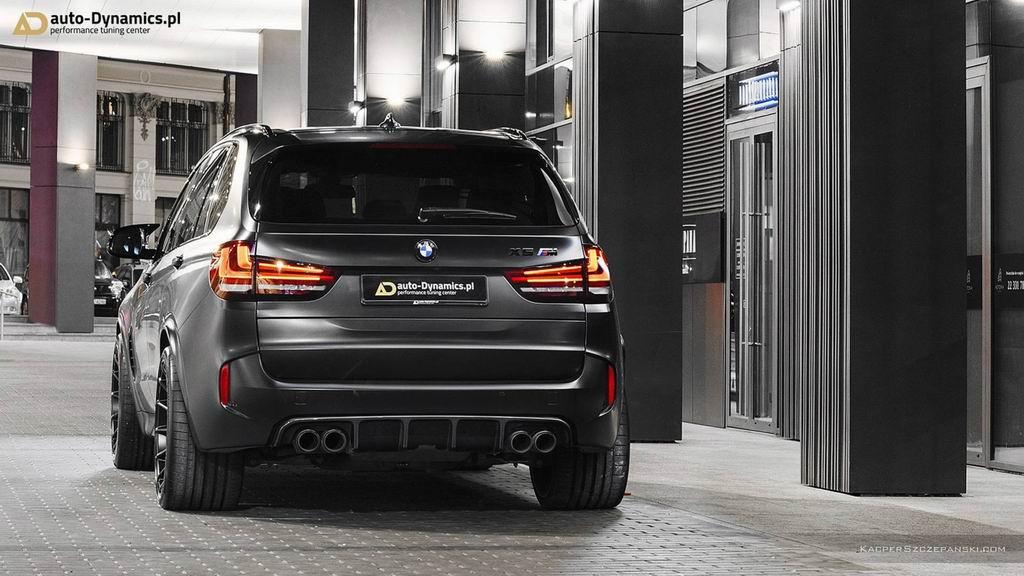 Специалисты Auto-Dynamics прокачали BMW X5 M