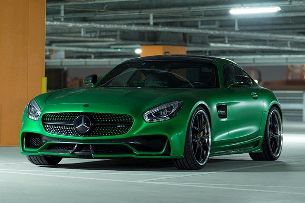 Mercedes-AMG GT S обзавелся обвесом Black Bison от ателье Wald