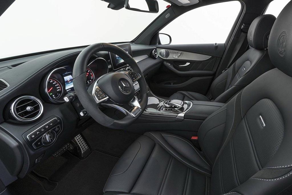Mercedes-AMG GLC 63 S от Brabus: сумасшедший кроссовер