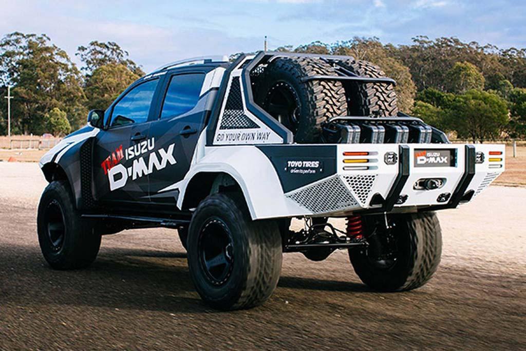 Команда Team D-Max построила два экстремальных Isuzu
