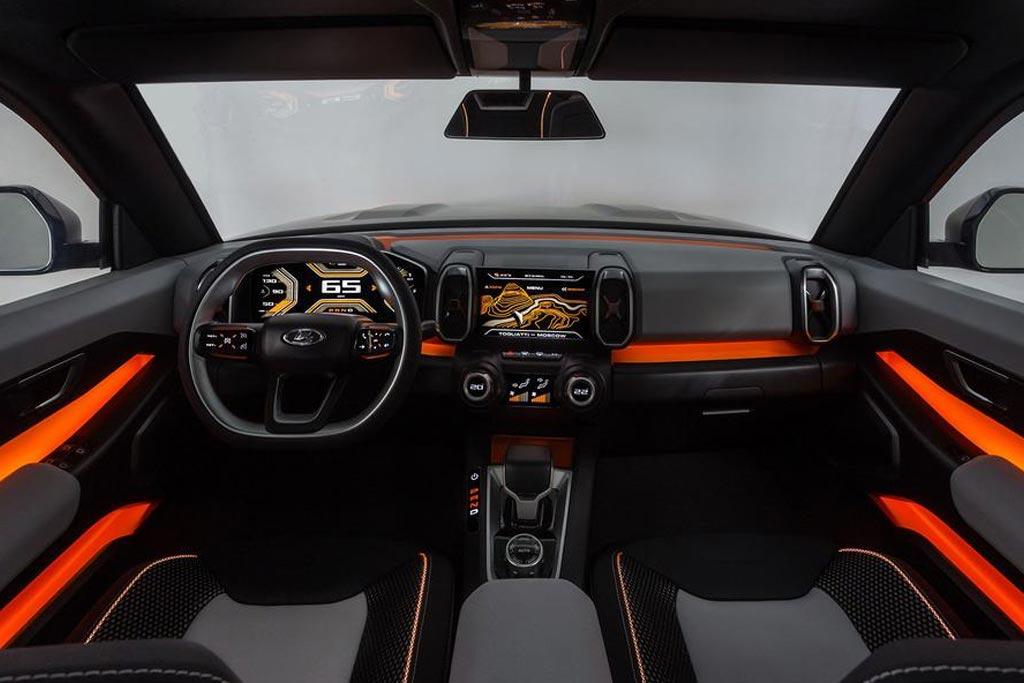 Салон Lada 4x4 Vision