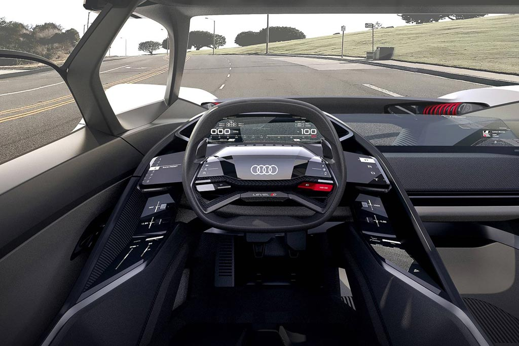 Салон Audi PB18 e-tron