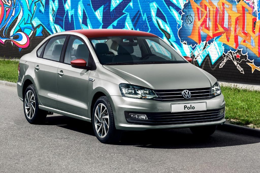Volkswagen Polo Joy: седан с двухцветной окраской кузова
