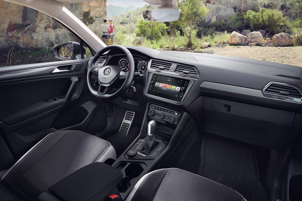 Салон VW Tiguan Offroad