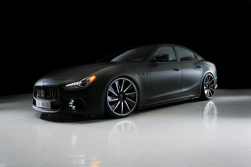 Maserati Ghibli Black Bison от ателье Wald International