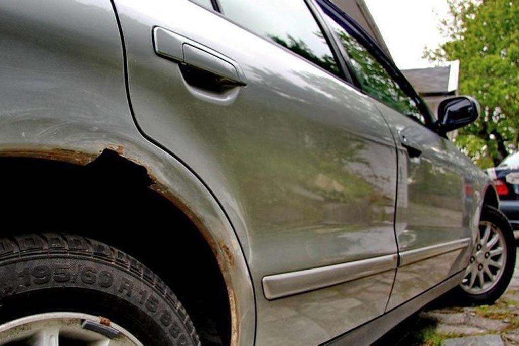 Ржавчина на автомобиле: причины появления и способы борьбы