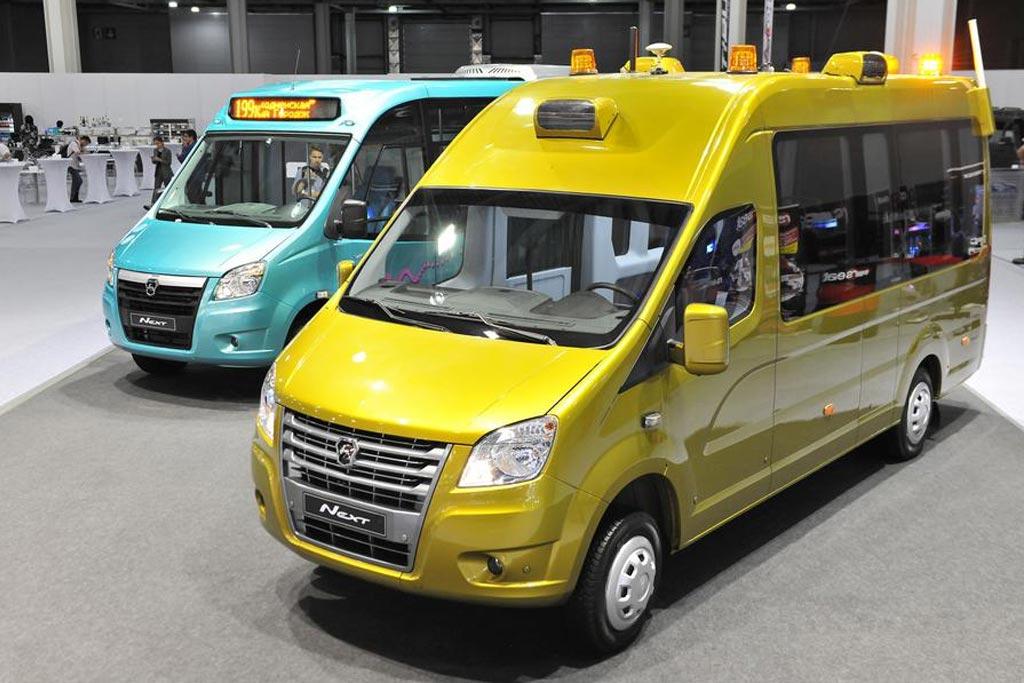 ГАЗ презентовал фургон NEXT с автопилотом: да не один а два