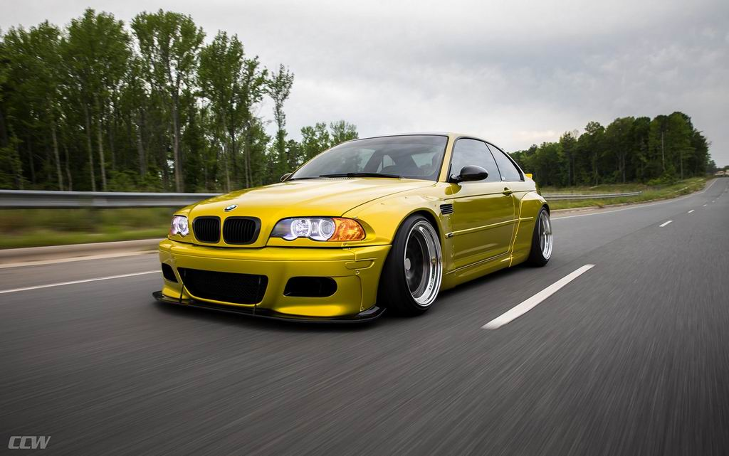 BMW M3 Phoenix Yellow