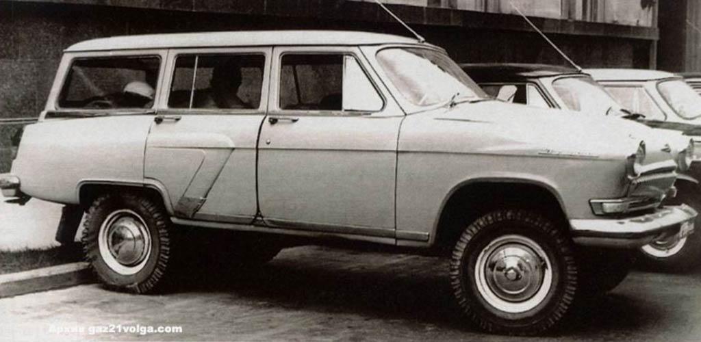 ГАЗ-22 (4х4)