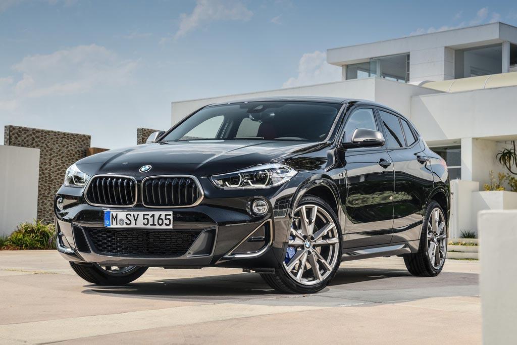 Новая модель BMW X2 M35i