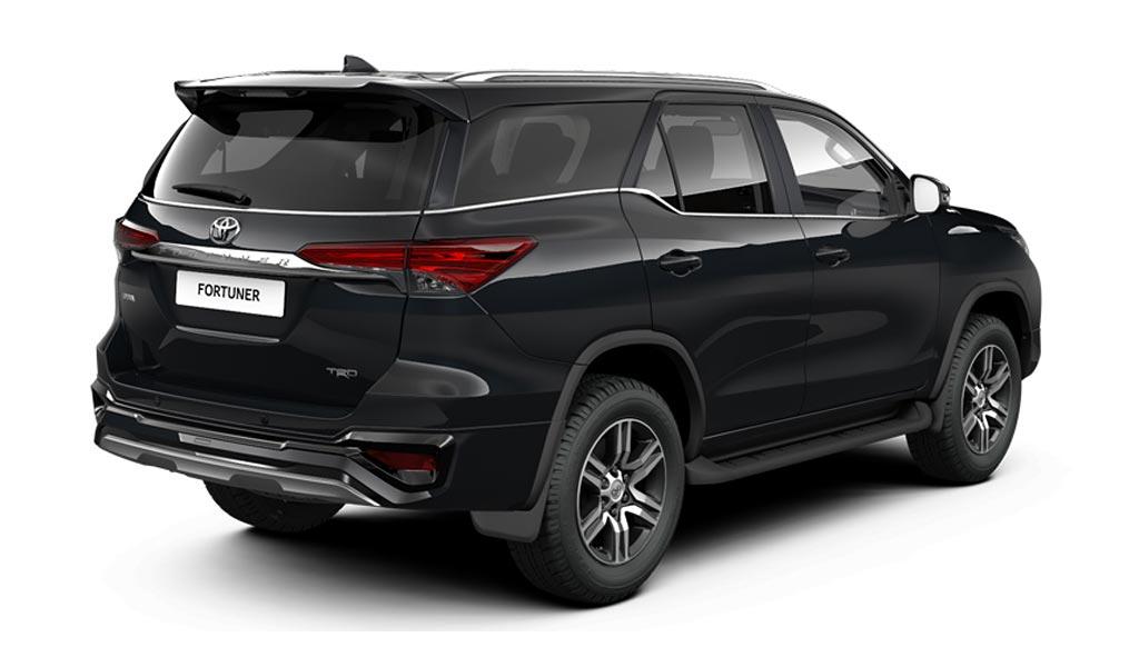 Toyota Fortuner TRD: теперь доступен в России