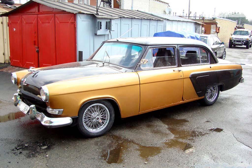 ГАЗ-21 с мотором Mercedes W140