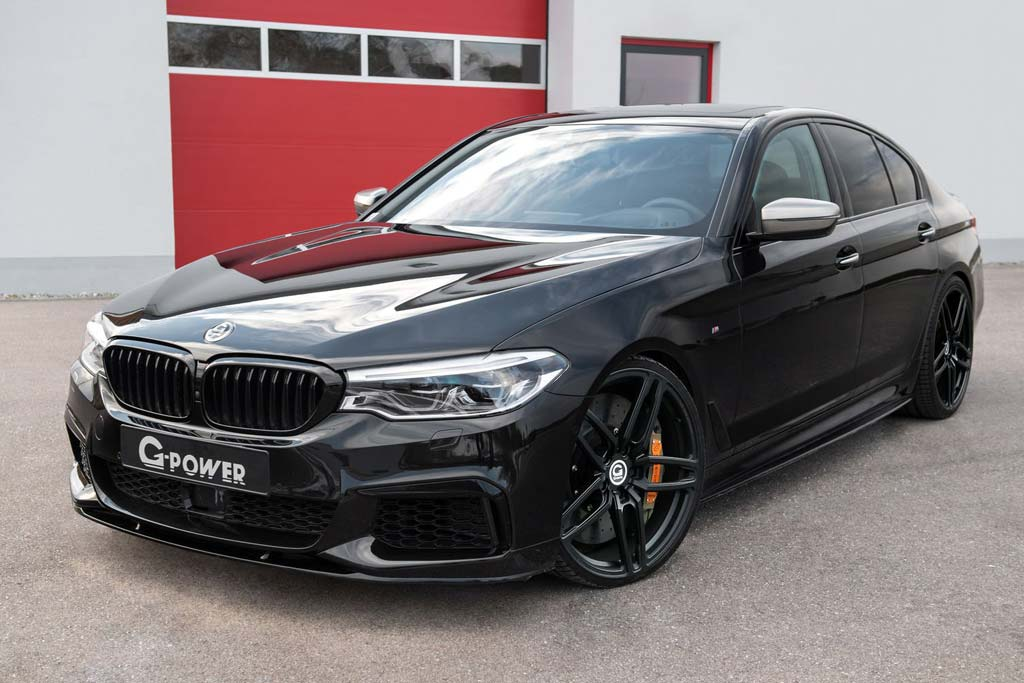 BMW M550i от G-Power