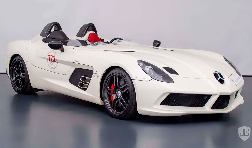 За редкий Mercerdes SLR McLaren Stirling Moss просят более $3 млн.