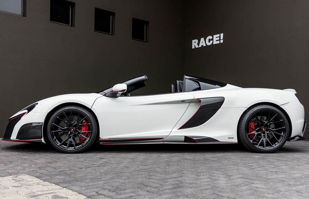 Race! 650S Spider
