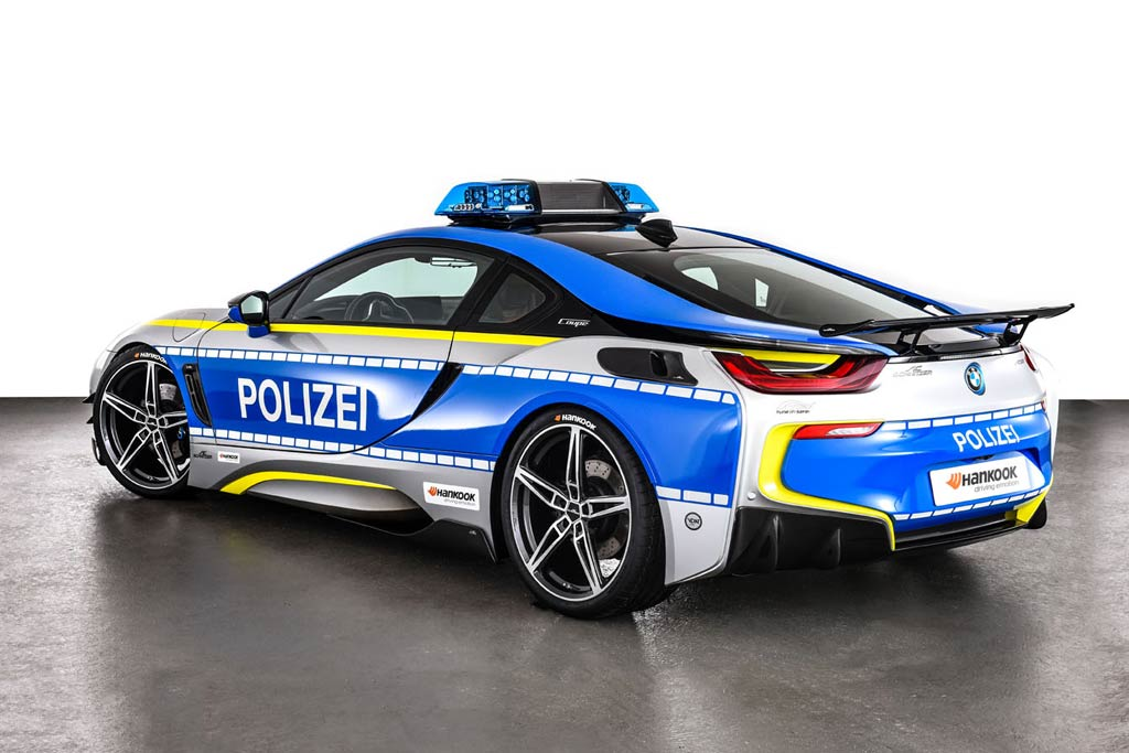 Полицейский ACS i8 Roadster