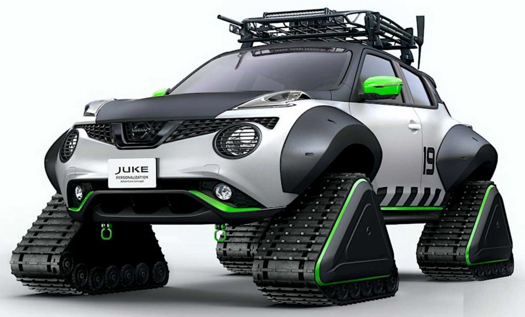 Nissan Juke Adventure Concept