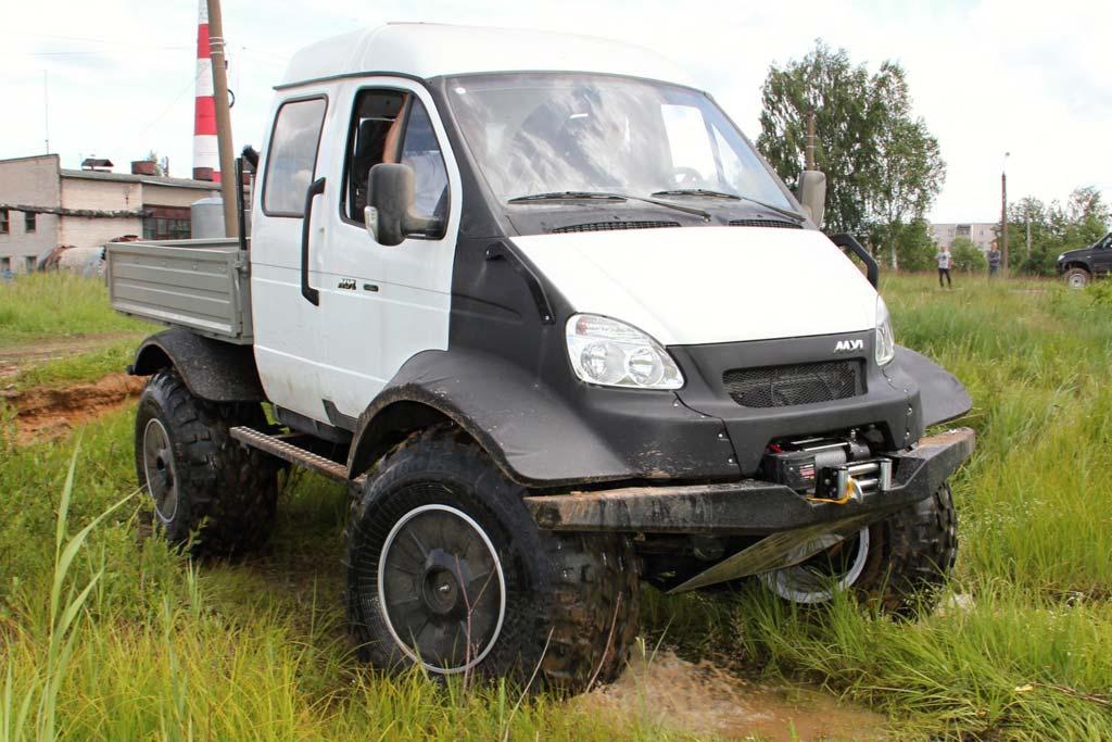Вездеходы базе различных моделей марки ГАЗ: самые крутые проекты