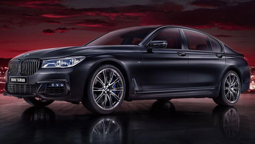 BMW 7-Series Black Fire