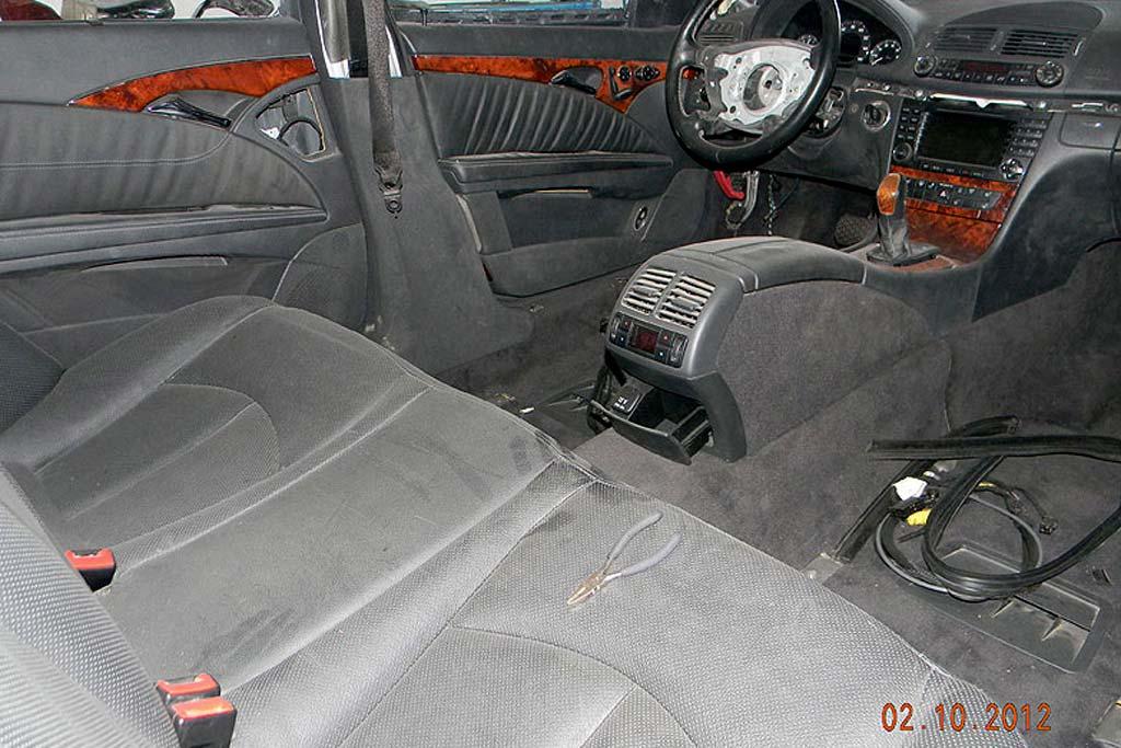 ГАЗ-21 на базе E500