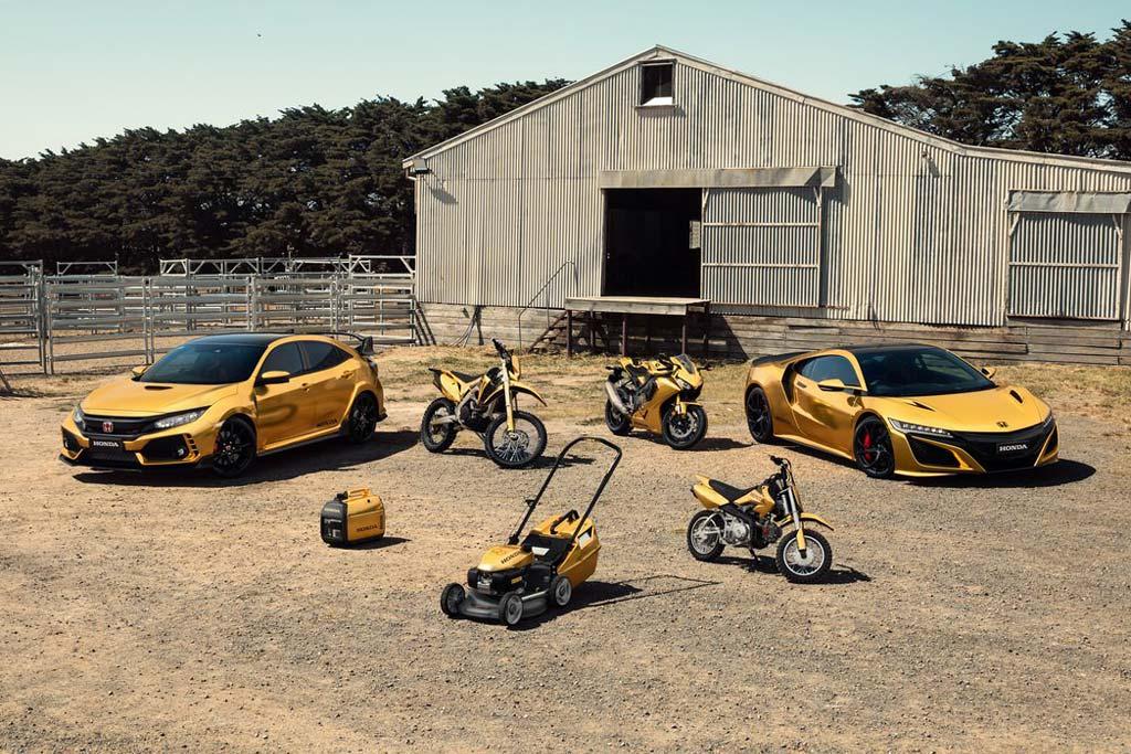 Honda 50 years in Australia