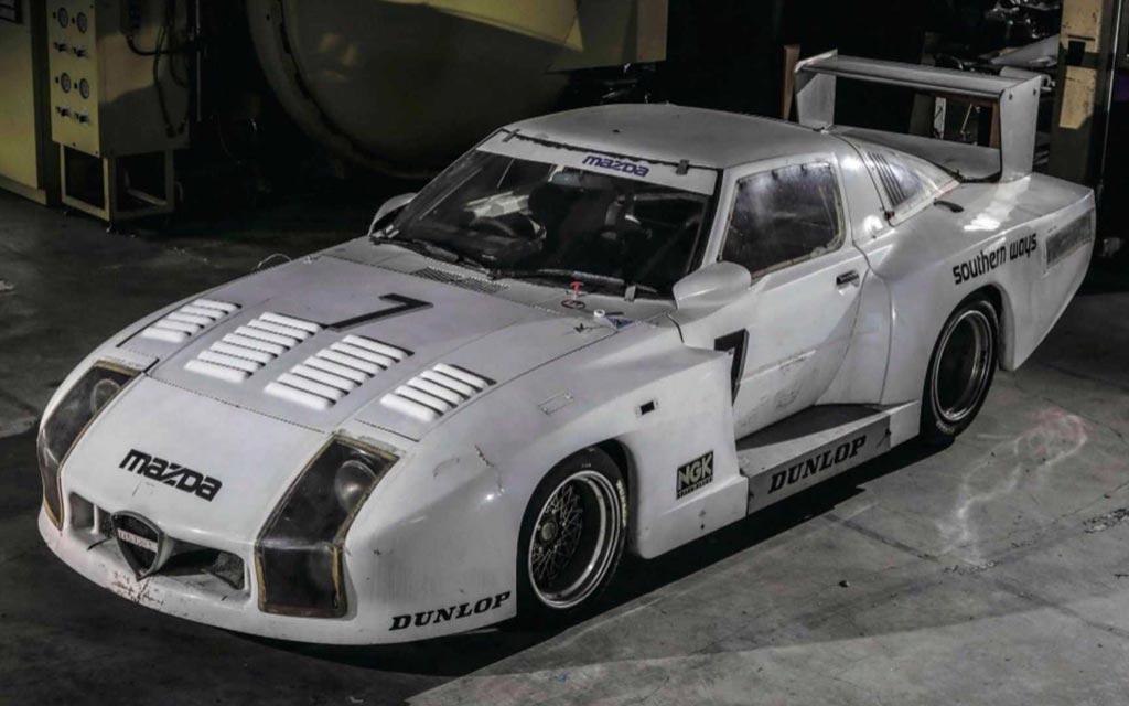 Обнаружили спустя 35 лет: в Японии нашли Mazda 254i Le Mans 1982 года