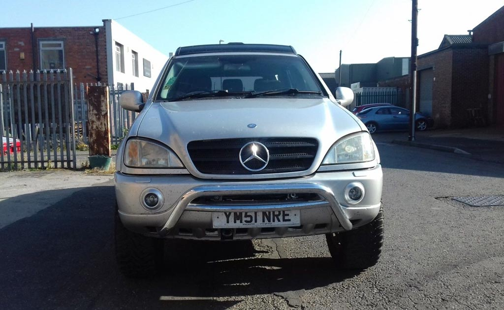 Mercedes ML 6x6