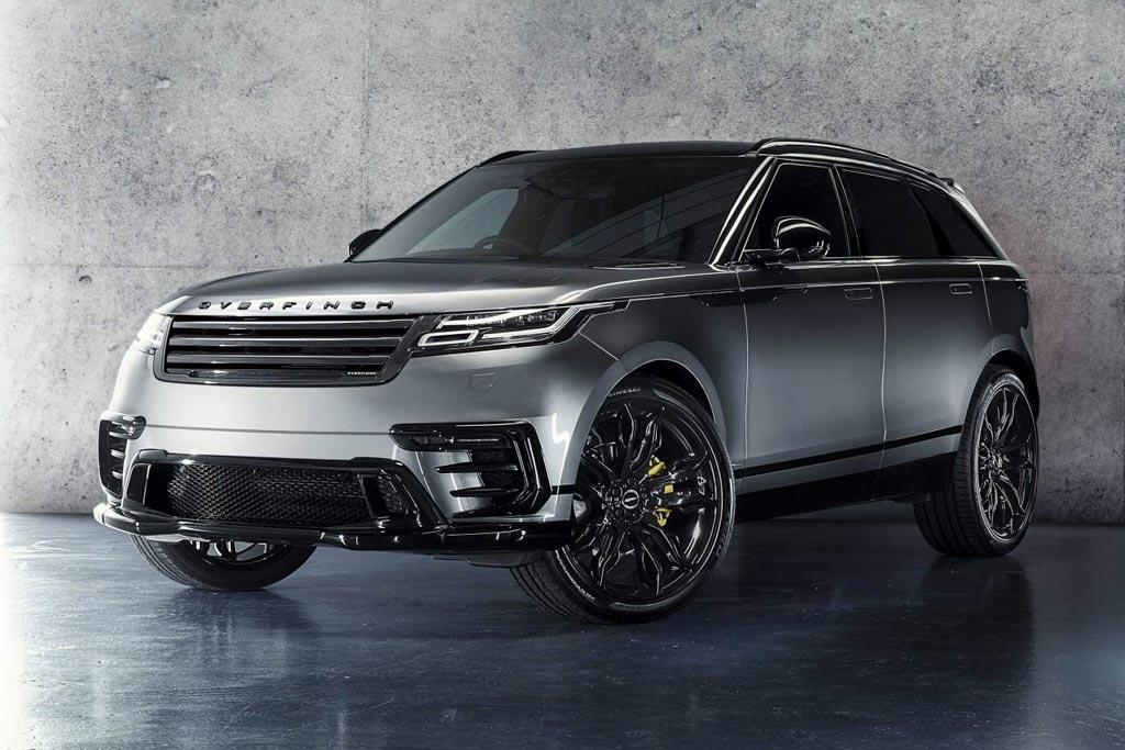 В ателье Overfinch подготовили обвес для Range Rover Velar