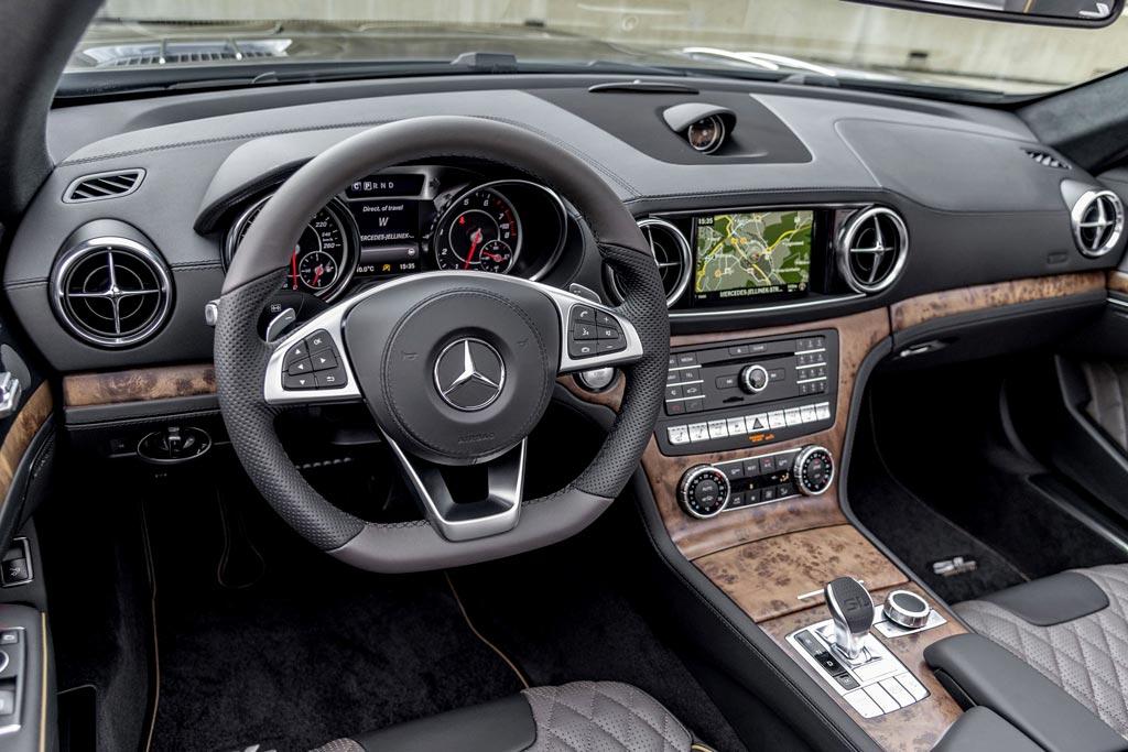 Mercedes-Benz SL обзавелся исполнением Grand Edition