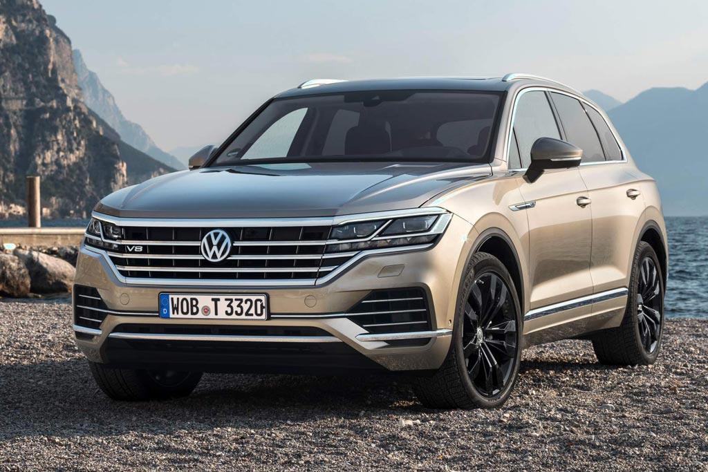 Volkswagen Touareg V8: немцы презентовали самый мощный Туарег