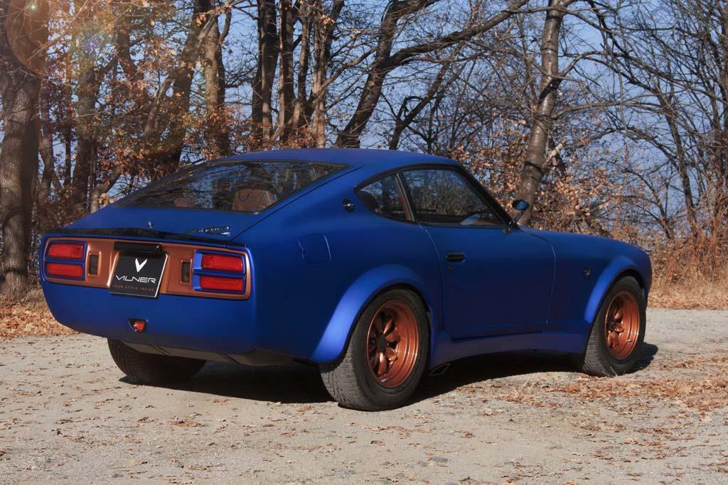 Datsun 280Z от ателье Vilner: после реставрации и тюнинга