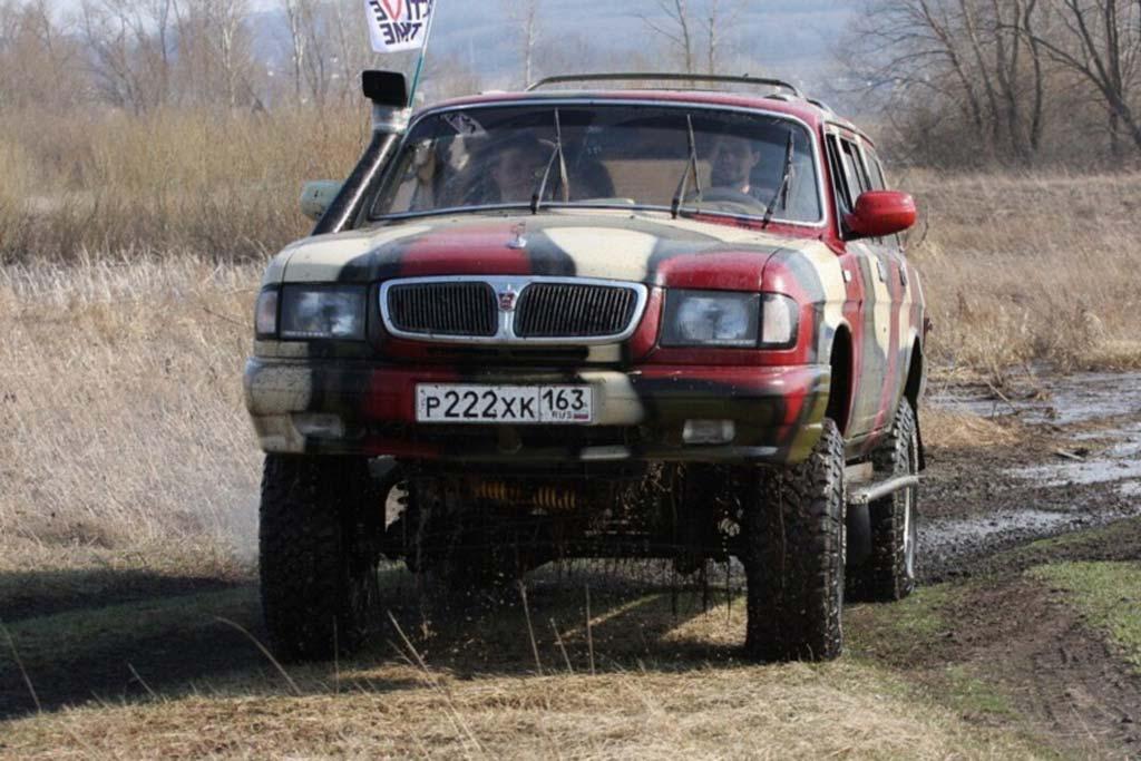 Волга на шасси УАЗ