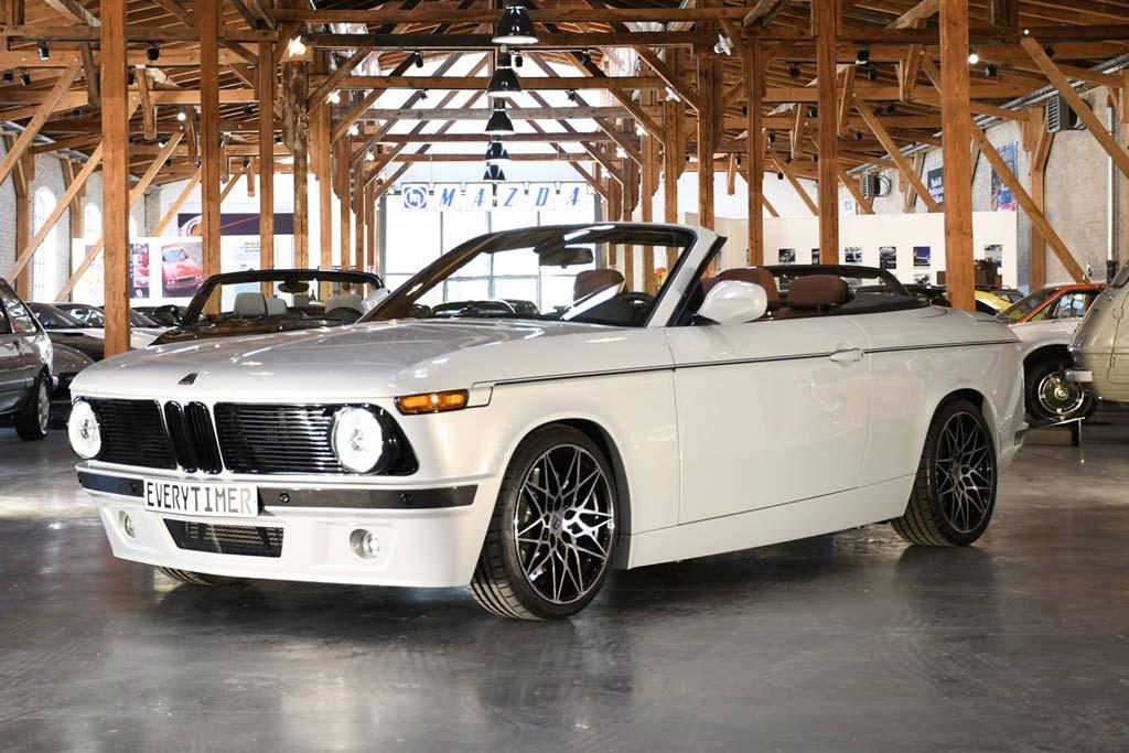 ETA 02 Convertible: легендарный BMW 02 с современной начинкой