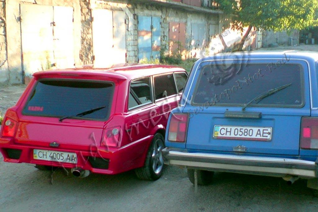 Из Англии в Украину: удивительная судьба серьезно переделанного ВАЗ-2104
