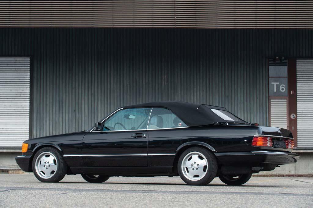 Mercedes 560 SEC Cabriolet