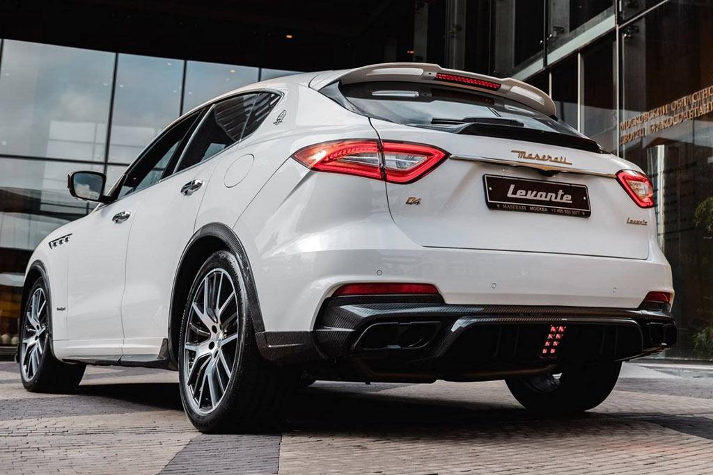 Maserati Levante обзавелся обвесом Shtorm GT от Larte Design
