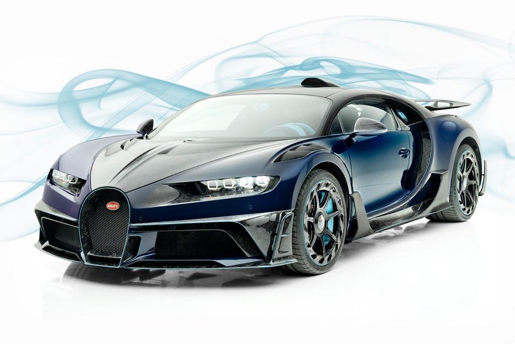Mansory Centuria: смелый тюнинг проект на базе Bugatti Chiron