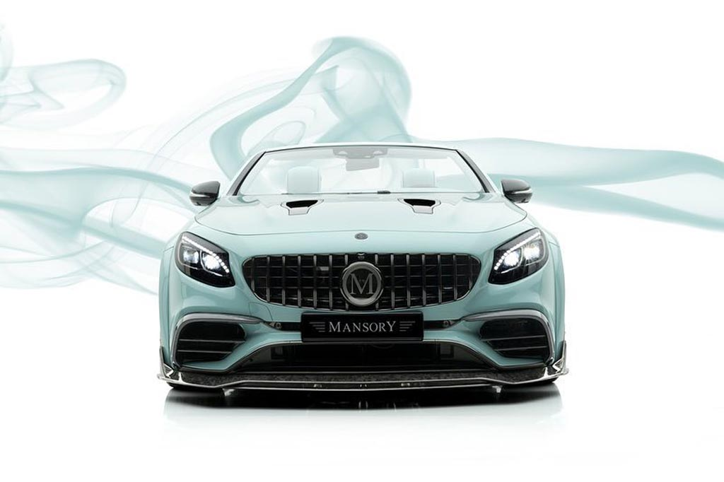 Mansory Apertus Edition на базе Mercedes-AMG S63 Cabriolet