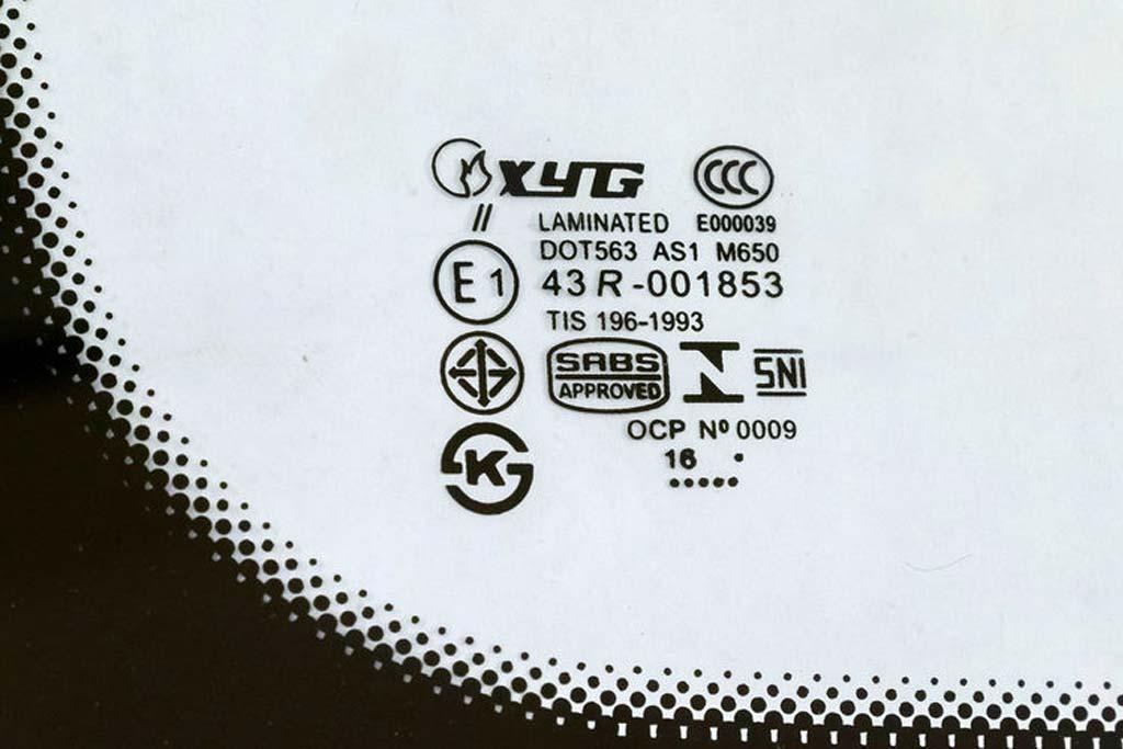 Маркировка автомобильных стекол: что скрывается за различными символами