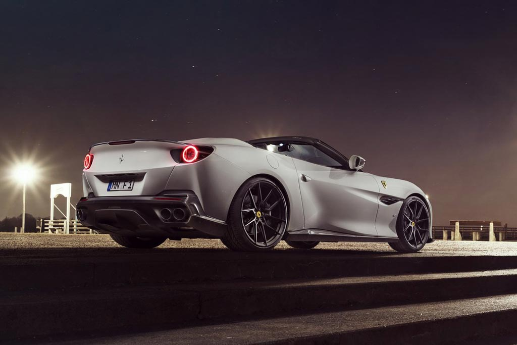 Новый Ferrari Portofino с доработками от ателье Novitec