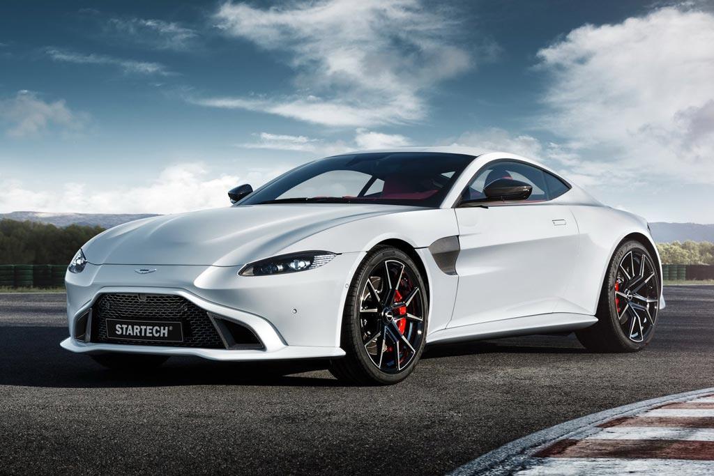 Новый Aston Martin Vantage побывал в тюнинг ателье Startech