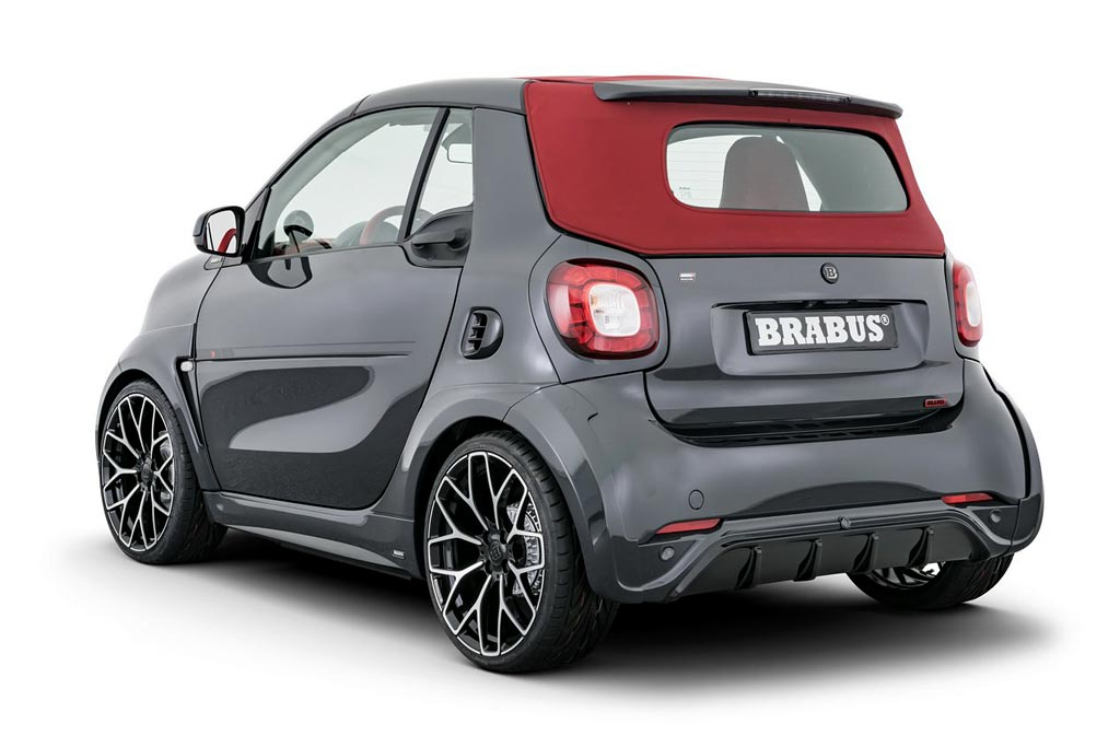 Brabus Ultimate E Shadow Edition на базе Smart ForTwo EQ Cabrio